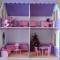 Купить Домик для кукол с мебелью, Кукольный дом, Куклы и игрушки ручной работы. Мастер Елена Криницкая (domdlyakukol) .