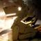 Купить Светильник Собачка, Светильники, Освещение, Для дома и интерьера ручной работы. Мастер Владислав Ключка (Krafftiki) .
