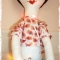 Купить Длинниногая куколка, Куклы Тильды, Куклы и игрушки ручной работы. Мастер Nadin R (Nadin) . интерьерная кукла