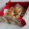 Купить Корзинка для печенья из текстиля, Для дома и интерьера ручной работы. Мастер Ирина Сухина (iraida2803) . корзинка печенья лен батист
