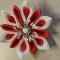 Купить Заколка-цветок, Текстильные, Заколки, Украшения ручной работы. Мастер Анна Позднякова (annamama77) . авторское украшение купить