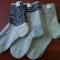 Купить Носки из овечьей шерсти, Носки, гольфы, Носки, Чулки, Аксессуары ручной работы. Мастер Лариса Bragunec (malora) . вязанные мужские носки