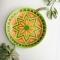 Купить Тарелка декоративная керамическая на стену (на подставке), Для дома и интерьера ручной работы. Мастер Елена Сармина (Latika108) . декоративная тарелка