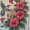 Купить композиция Райская птичка, Животные, Картины и панно ручной работы. Мастер Татьяна Клемина (strawberrii) . нитки мулине