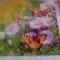 Купить Бабочки в цветах, Картины цветов, Картины и панно ручной работы. Мастер юлия лел (vesnulea) .