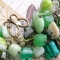 Купить Браслет Лесная чаща, Декоративное стекло, Браслеты, Украшения ручной работы. Мастер Анастасия Маркова (viento) . лес