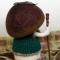 Купить Гриб Боровик, Войлочные, Коллекционные куклы, Куклы и игрушки ручной работы. Мастер Ирина Крылова (fintifluchka) . игрушка из шерсти