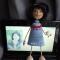 Купить Куколка-девочка, Вязаные, Человечки, Куклы и игрушки ручной работы. Мастер Рамзия Решетникова (Ramremik) . каркасная кукла