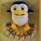Купить Пингвинёнок Лоло, Развивающие игрушки, Куклы и игрушки ручной работы. Мастер Ольга Колдомаева (4lapka) . велюр