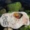 Купить Золотая рыбка нарисована в камне, Для дома и интерьера ручной работы. Мастер Марина Калиновская (Aeroart) . золотая рыбка