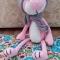 Купить Розовый кот, Коты, Зверята, Куклы и игрушки ручной работы. Мастер Марина Мандрик (Mamaarseniya) . котенок игрушка