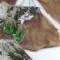 Купить Серьги Зеленая и розовая Груша, Смешанная техника, Серьги, Украшения ручной работы. Мастер Яна Новикова (Ya-na) . летний