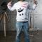 Купить Свитшот ПАНДА ГЭНГСТА, Джемпера, Для мужчин, Одежда ручной работы. Мастер Дмитрий Архипов (Fancy-Panda) .