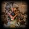 Купить Собакин Мартин, Текстильные, Коллекционные куклы, Куклы и игрушки ручной работы. Мастер Екатерина Ким (Kakimura) .