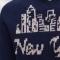 Купить Мужской свитер с надписью Нью Йорк, Свитера, Для мужчин, Одежда ручной работы. Мастер Владимир  (Skiff) .