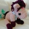 Купить Розовая пони, Другие животные, Зверята, Куклы и игрушки ручной работы. Мастер Татьяна Искендерова (fktrcveykfqn) . плюшевая пряжа