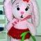 Купить Плюшевая зайка, Зайцы, Зверята, Куклы и игрушки ручной работы. Мастер Елена  (alenali2011) . авторская игрушка