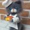 Купить Вязаный кот Сыровар, Коты, Зверята, Куклы и игрушки ручной работы. Мастер Анна Воробьева (Vorobyeva72-) . кот