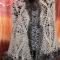 Купить Ажурная шаль с пушистой каймой, Пончо, Одежда ручной работы. Мастер Светлана Сальникова (SWETLANKA) . ажурная шаль
