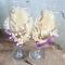 Купить Сельский шик, Свадебные бокалы, Свадебные аксессуары, Свадебный салон ручной работы. Мастер Евгения  (Akvamarelka) .