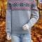 Купить Мужской новогодний свитер, Свитера, Для мужчин, Одежда ручной работы. Мастер Владимир  (Skiff) . новогодний свитер