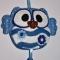 Купить Ключница-сова в голубом наряде, Футляры, очешники, Сумки и аксессуары ручной работы. Мастер Светлана Климова (Fetrushki) .