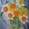 Купить картина бисером Однажды весной, Картины цветов, Картины и панно ручной работы. Мастер Евгения Закора (gold-thread) . бисер чешский