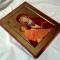 Купить Икона Божией Матери Одигитрия, Персональные подарки, Подарки к праздникам ручной работы. Мастер Геннадий Степанов (St-Genry) .