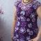 Купить Платье Сиреневый туман, Вязаные, Коктейльные, Платья, Одежда ручной работы. Мастер Людмила Савельева (ludo4ka) .
