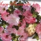 Купить Картина Облако воздушных роз, Картины цветов, Картины и панно ручной работы. Мастер Алсу Галимова (AlsuGalimova) . акриловая краска по ткани