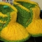 Купить Пинетки туфельки, Детская обувь, Работы для детей ручной работы. Мастер Светлана Сальникова (SWETLANKA) . пинетки вязаные