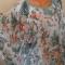 Купить блузка из нежнейшего шифона, Блузки, Одежда ручной работы. Мастер Елена Воронина (hilda) . атласная бейка