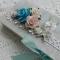 Купить Шкатулка женская голубая, Подарочная упаковка, Сувениры и подарки ручной работы. Мастер Юлия  (Julia) . авторская шкатулка