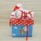 Купить Пинетки кедики красные с белым  для девочки в подарочной коробке, Пинетки, Для новорожденных, Работы для детей ручной работы. Мастер Татьяна Алерси (alersy) . детская пряжа