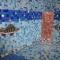 Купить Мозаичный декор РЫБКИ для бассейна или душевой кабинки, Животные, Картины и панно ручной работы. Мастер Игорь Рёхин (reha73) . панно из мозаики