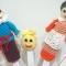 Купить Пальчиковый вязаный театр Колобок, Кукольный театр, Куклы и игрушки ручной работы. Мастер Наталья Передерий (loko-vagon) . пальчиковые куклы