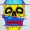Купить Черепушка, Футболки, Футболки, майки, Одежда ручной работы. Мастер Ольга Егорова (skilldns) . ручная роспись
