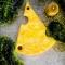 Купить Сервировочная доска кусочек сыра, Новый год, Подарки к праздникам ручной работы. Мастер  korobka4udes (korobka4udes) .