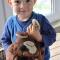 Купить Щенок Татоша - хранитель пижамки, Элементы интерьера, Детская, Для дома и интерьера ручной работы. Мастер Светлана Михайлова (SVETim) . подарок детям