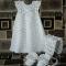 Купить Крестильный комплект Маленькая фея, Крестильные принадлежности, Работы для детей ручной работы. Мастер   (Olga300476) . крестильное платье