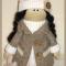 Купить кукла  Осенняя парочка, Текстильные, Коллекционные куклы, Куклы и игрушки ручной работы. Мастер Елена Дашина (elenadashina) .