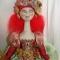 Купить Скульптурно-текстильная кукла Веселина, Текстильные, Коллекционные куклы, Куклы и игрушки ручной работы. Мастер Ирина Бадюкова (Irinabdk) . украшение для интерьера