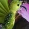 Купить Брошь колибри  Greenery, Текстильные, Броши, Украшения ручной работы. Мастер Татьяна Никитина (Tatiyana) .
