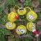 Купить Веселые смайлы, Новогодние сувениры, Новый год, Подарки к праздникам ручной работы. Мастер Эльмира  (Elmira) . смайлы