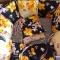 Купить Бортики в кроватку Ирисы, Текстиль для детской, Детская, Для дома и интерьера ручной работы. Мастер Ольга Кириленко (Odeyalki) .