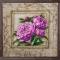 Купить Пионы в вышитой раме, Картины цветов, Картины и панно ручной работы. Мастер Маргарита Милова (Margo-rita) . картина