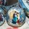 Купить Елочные игрушки Дачный поселок Елочные шары Новогодний шар, Подарки к праздникам ручной работы. Мастер Ирина Иванова (irinaivanova) . елочные шары