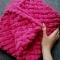 Купить Плюшевый плед, Вязаные, Пледы и одеяла, Работы для детей ручной работы. Мастер Елизавета Стирманова (Elizabeth) .