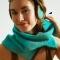 Купить шарф-труба или снуд цвета лазурь, Женские, Шарфы, шарфики и снуды, Аксессуары ручной работы. Мастер марья синькова (marja) . воротник