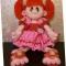 Купить кукла Принцесска Карамелька, Вязаные, Человечки, Куклы и игрушки ручной работы. Мастер Наталья  (nnattalli) . вязаная игрушка